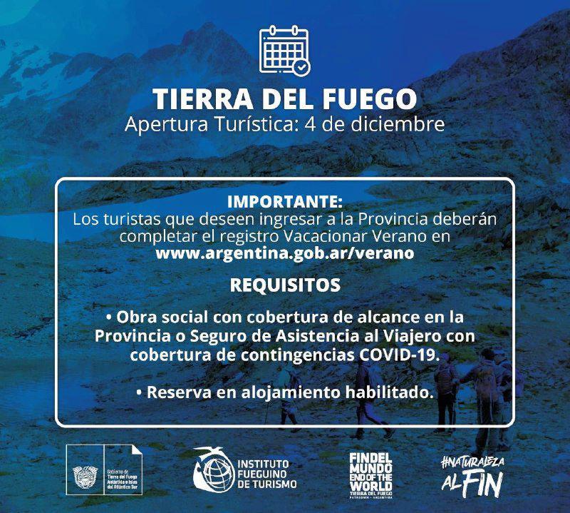 requisitos turismo tdf